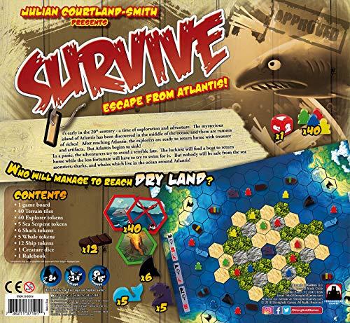 Stronghold Games - Juego de Tablero, 2 a 4 Jugadores (SHG2002A) (versión en inglés)