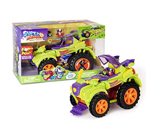 SuperZings- Camión Villano Especial - Vehículos y figuras exclusivas coleccionables, Color verde, Playset (Magic Box PSZSD112IN30) , color/modelo surtido