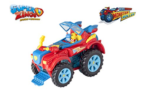 SuperZings- PlaySet Heroe Truck Vehículos y Figuras Especiales, Color rojo, única (Magic Box PSZSP112IN20) , color/modelo surtido