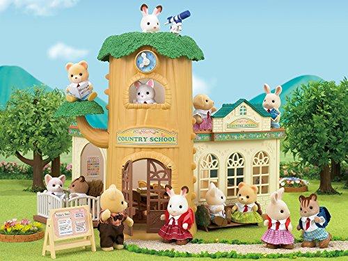 Sylvanian Families- Country Tree School Mini muñecas y Accesorios, Multicolor (Epoch para Imaginar 5105) , color/modelo surtido
