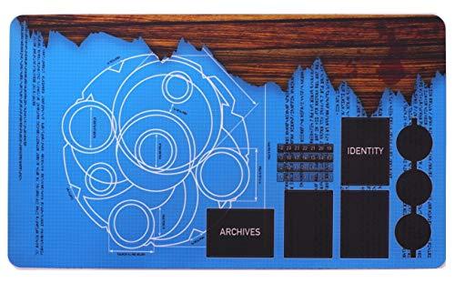 Tapete para Keyforge - Keyforge Compatible Playmat - Key Blueprints