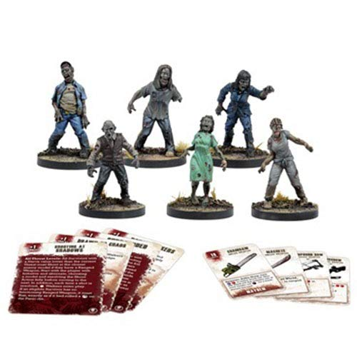 The Walking Dead All Out War The Walking Dead-Booster Merodeadores, Multicolor (2 Tomatoes Games 5060469660783)