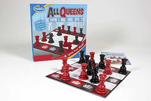 Think Fun All Queens - Juego de ajedrez