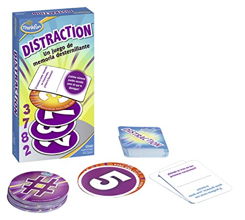 Think Fun- Distraction Juego de Habilidad, Multicolor (Ravensburger 76323)