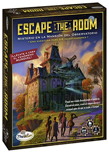 Think Fun- Escape Room Misterio en la mansión del observatorio (Ravensburger 76314)