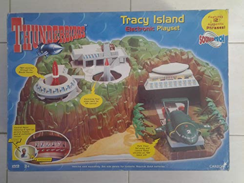 Thunderbirds Tracy isla electrónico Playset