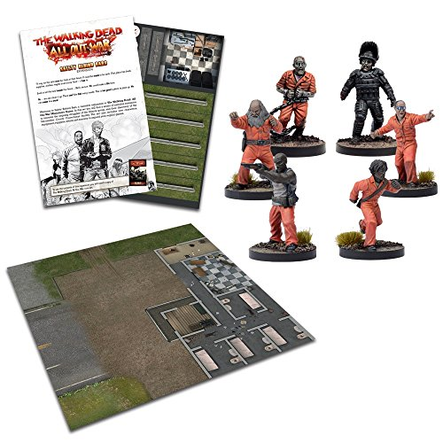 Tomatoes Games The Walking Dead-Expansión Seguridad Tras los barrotes, Multicolor (5060469660790)