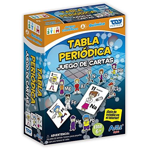 Toy Partner-96436 Artec HOL Juega con Tabla periódica 22x16cm, Multicolor (96436)