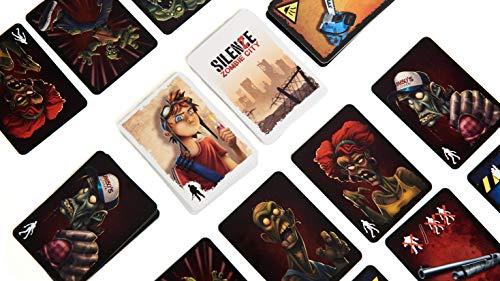 Tranjis Games - SilenZe: Zombie City - Juego de Mesa (TRG-018zom)