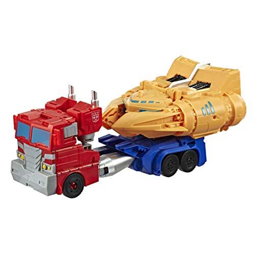 Transformers- Cyberverse Ark Power Optimus Prime (Hasbro E4218EU4) , color/modelo surtido