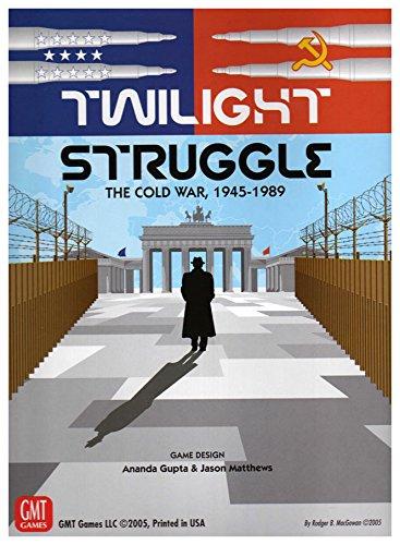 Twilight Struggle GMT Games GMT 0510-09 The Cold War 1945-1989 - Juego de Mesa temático de Guerra y Estrategia (2 Jugadores, Importado de Reino Unido)
