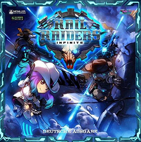 Ulisses Spiele - Rail Raiders Infinite, Juego básico