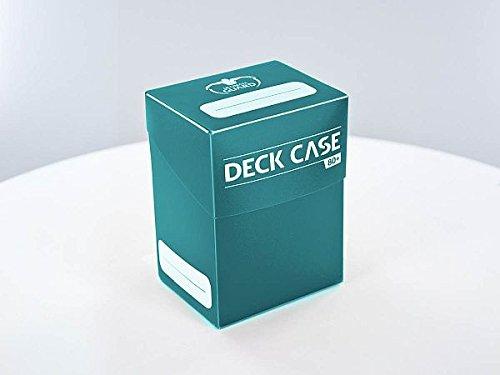 Ultimate Guard Deck Case 80+ Caja de Cartas Tamaño Estándar Gasolina Azul