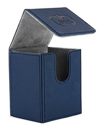 Ultimate Guard Flip Deck Case 100+ Caja de Cartas Tamaño Estándar XenoSkin Azul
