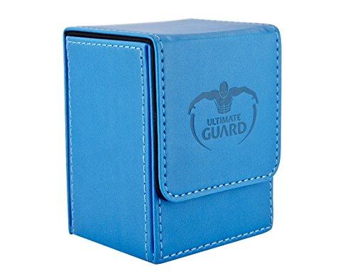 Ultimate Guard - Tarjetas Flip Case Caja Cubierta, Color Azul (10147)