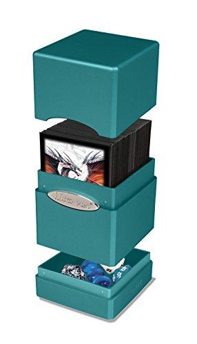 Ultra Pro 84616 - Caja para Cartas (satén), Color Azul