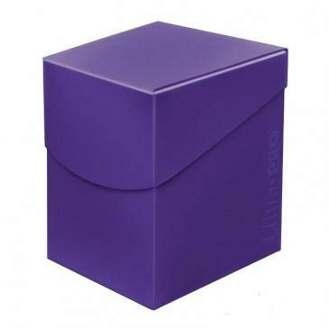 Ultra Pro 85692 Eclipse Pro 100+ -Caja para Cubierta, Color Morado, Royal Purple