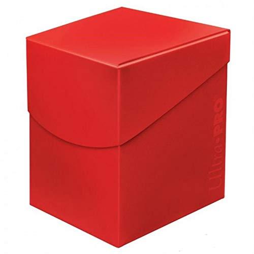 Ultra Pro E-85686 85686 Eclipse Pro 100+ -Caja para Cubierta, Color Rojo, Adultos Unisex, Apple Red