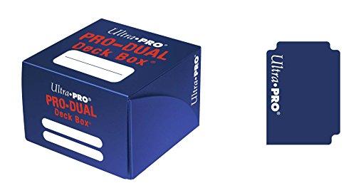 Ultra Pro–Juego de Cartas Deckbox Pro Dual C30(Azul)