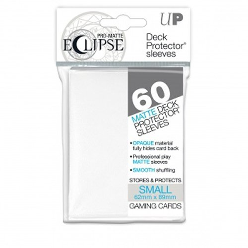 Ultra Pro- Pro-Matte Eclipse – (60 Fundas), Color Blanco (E-85268)