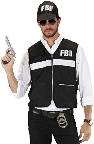 Widmann 7586F - Disfraz de policía para hombre