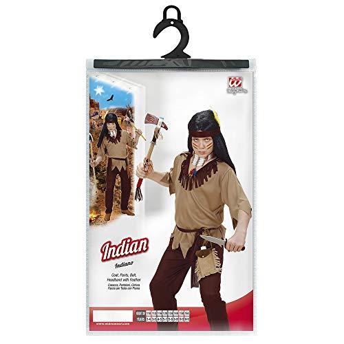 WIDMANN BOYS INDIAN FANCY DRESS COSTUME AGE 11-13 YRS (disfraz)