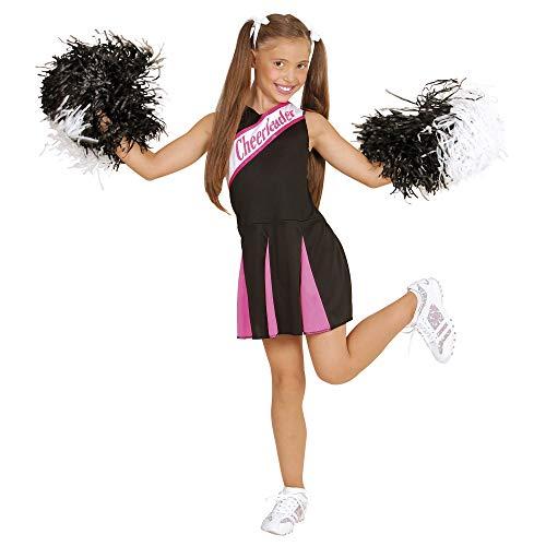 WIDMANN Cheerleader - Childrens Fancy Dress Costume - Large - Age 11-13 - 158cm