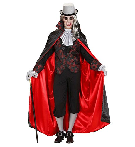 WIDMANN Sancto Vampire Costume Medio para Halloween vestido de lujo de Drácula