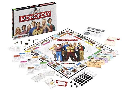 Winning Moves- Monopoly Edición The Big Bang Theory, Juego de Sociedad, 036566