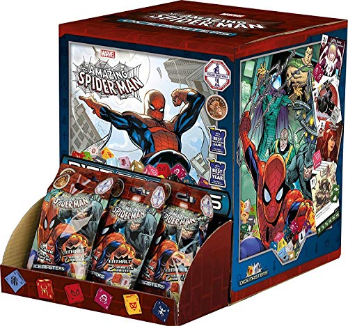 Wizkids 272146 Marvel Dice Masters Spider Man Gravity Feed - Juego de Cartas coleccionables, Multicolor
