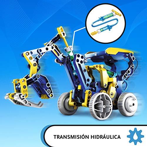Xtrem Bots-XT380893 Taller de Robotica, Color Blanco, 11 Formas (XT380893)