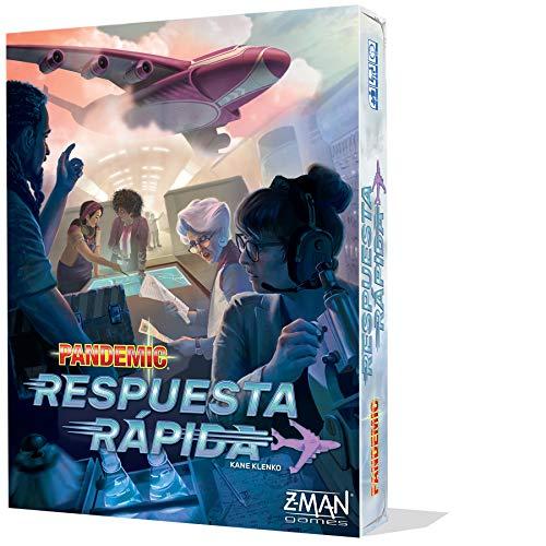 Z-Man Games- Pandemic Respuesta rápida, Color (ZM011ES)