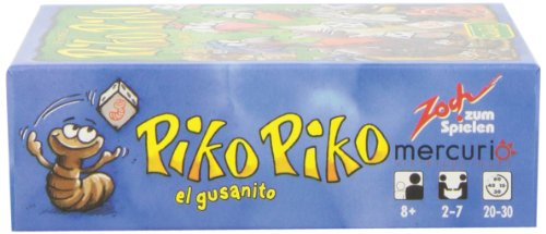Zoch - Piko Piko, el gusanito, Juego de Mesa, Juego de Mesa en español (Mercurio Distribuciones Z0006)