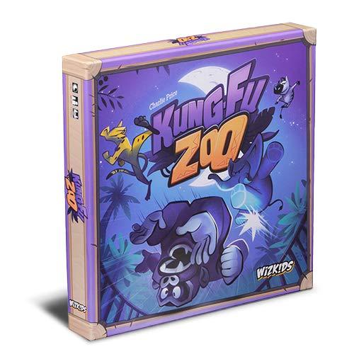 Asmodee- Kung Fu Zoo-8105 Italia, Color 8105