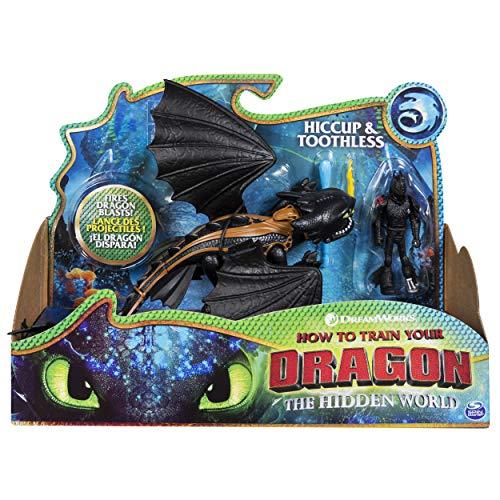 Dragons 6052275 Viking - Figuras de Hiccup sin dientes y colores mezclados , color/modelo surtido