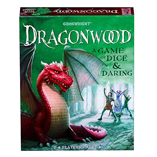 Dragonwood A Game of Dice & Daring Board Game by Gamewright