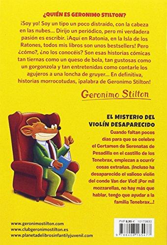 El misterio del violín desaparecido: Geronimo Stilton 64