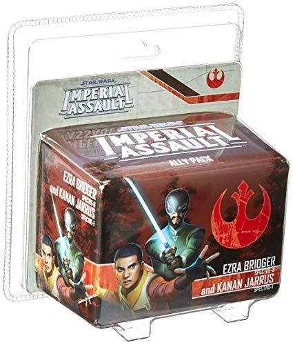Fantasy Flight Games FFGSWI55 Ezra Bridger and Kanan Jarrus Ally Pack: Star Wars Imperial Assault, Multicolor