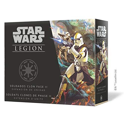 Fantasy Flight Games- Star Wars Legion - Soldados Clon Fase II Expansión de Unidad, Color (SWL61ES)