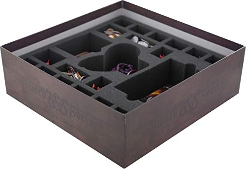 Feldherr Foam Set Compatible with Sword and Sorcery: Arcane Portal - Board Game Box