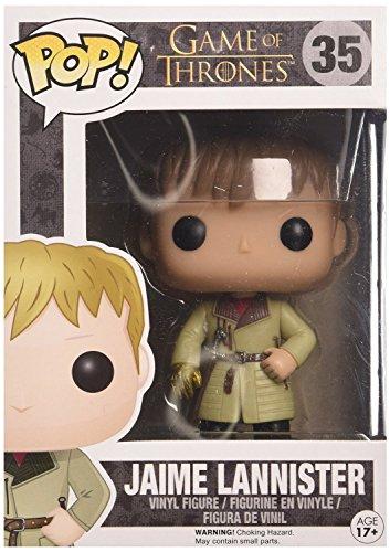 Funko - Estatuilla de Juego de Tronos - Jaime Lannister Mano de Oro Pop 10cm - 0849803050696