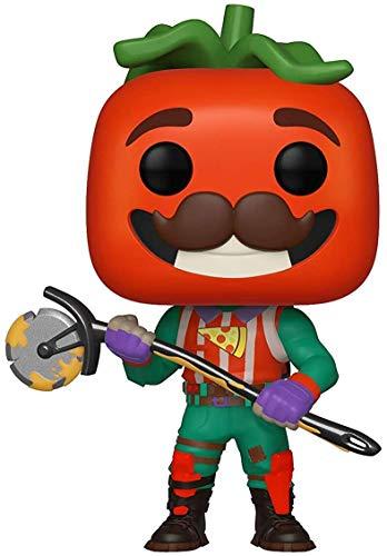 Funko- Pop Vinilo: Games: Fortnite: TomatoHead Figura Coleccionable, Multicolor, Talla única (39051)