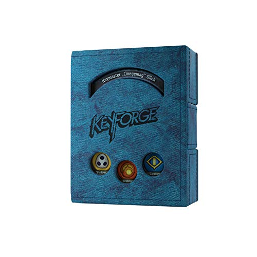 GAMEGEN!C- Keyforge Blue Deck Book, Color Azul (GGS20005)