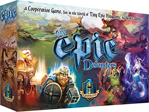 Gamelyn Games GSTGMGTINY02 Tiny Epic Defenders 2ª edición, Multicolor