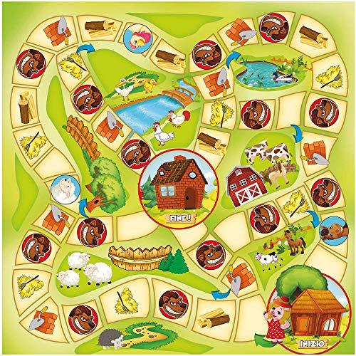 Grandi Giochi gg90202–Juegos de Caja I 3cerditos