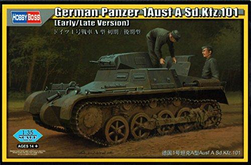 Hobby Boss 80145–Maqueta de Tanque German 1ausf a SD.Coche.101