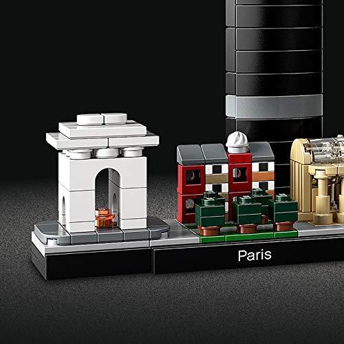 LEGO Architecture - París, maqueta decorativa de ciudad para construir y decorar (21044)