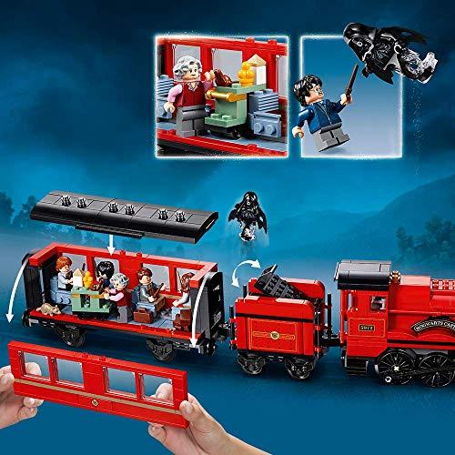 LEGO Harry Potter - Hogwarts Express, Tren de Juguete y Andén 9 y 3/4 (75955)
