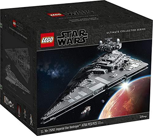 LEGO Star Wars - Destructor Estelar Imperial, Maqueta de Nave Espacial del Universo de La Guerra de las Galaxias, Incluye el Tantive IV de los Rebeldes, Recomendado a Partir de 16 Años (75252)
