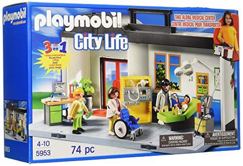 Playmobil 5953 Maletín Conjunto de hospital